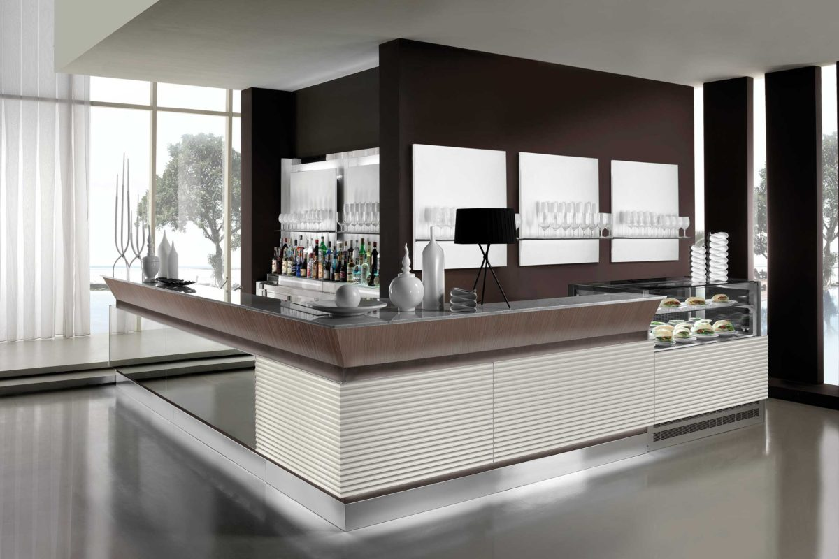 Arredo ambrogio arredamento per bar artic for Artic arredo bar