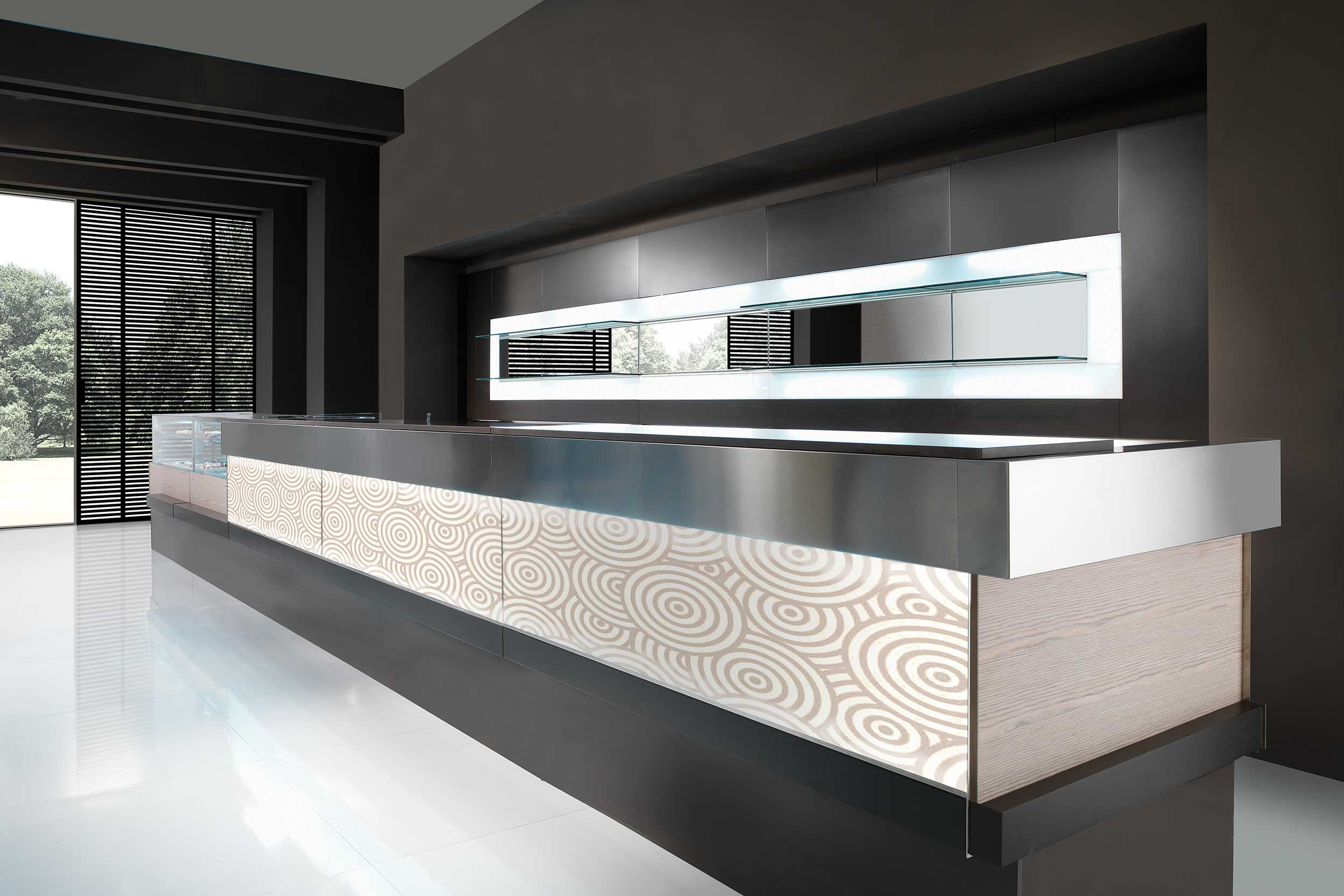 Arredo scoop arredamento per bar artic for Artic arredo bar
