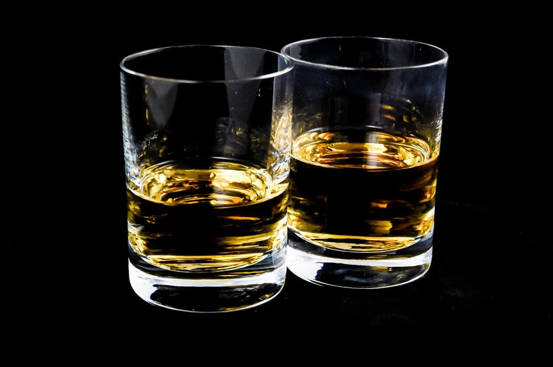 bicchieri da brandy arredamento bar vintage