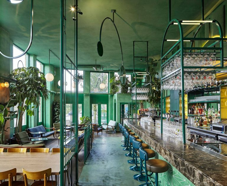 Stile tropical bar Amsterdam