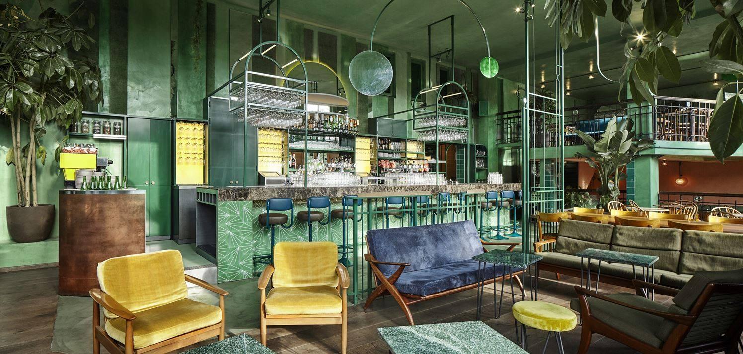 Stile tropical bar Amsterdam