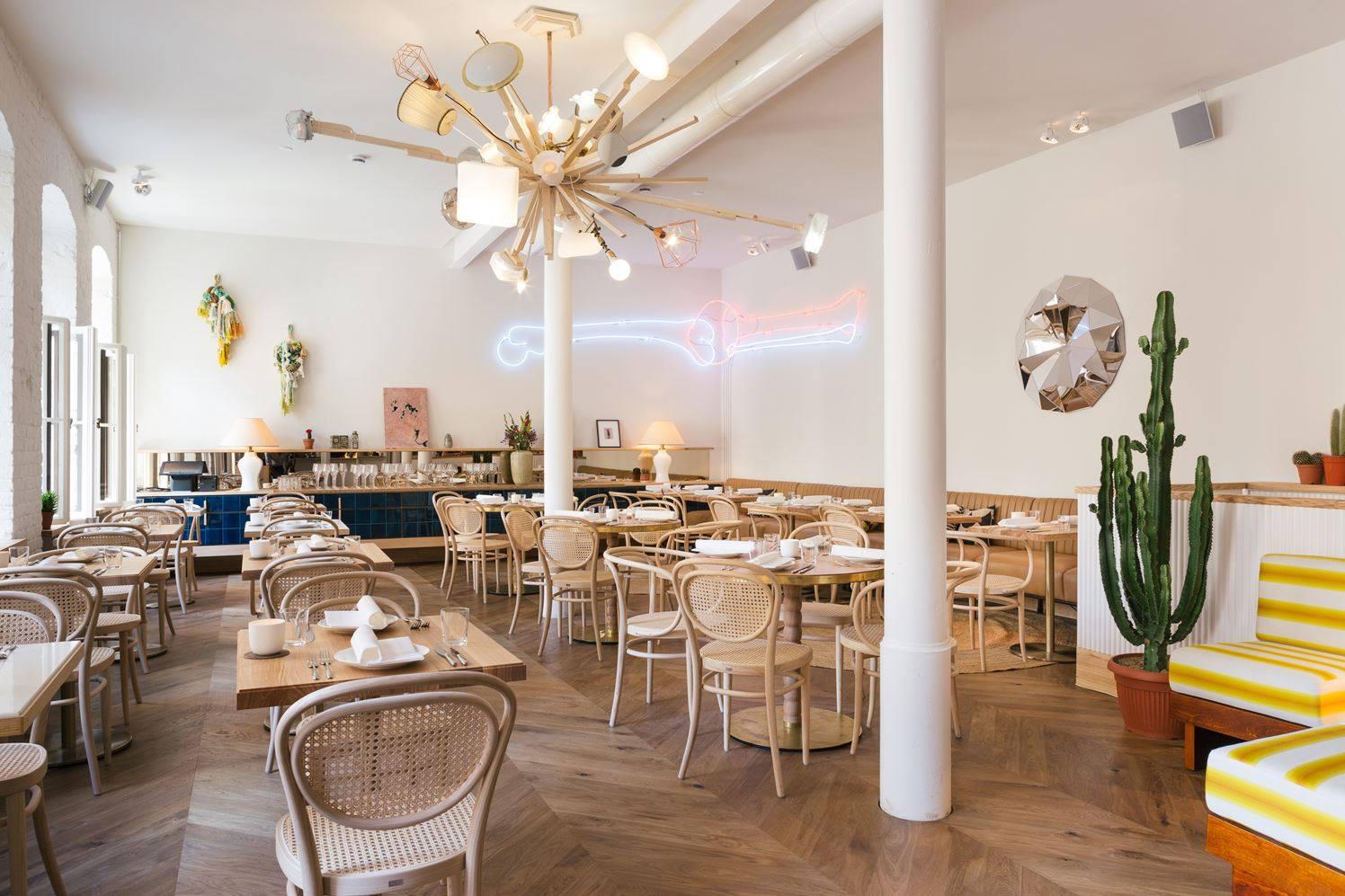 Stile tropical ristorante Berlino