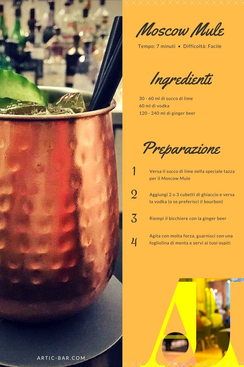 Cocktail estate 2017: Moscow Mule